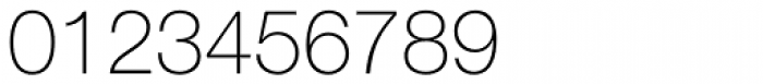 Helvetica Neue 35 Thin Font OTHER CHARS