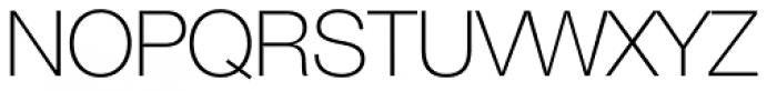 Helvetica Neue 35 Thin Font UPPERCASE