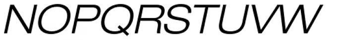 Helvetica Neue 43 Ext Light Oblique Font UPPERCASE