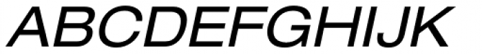 Helvetica Neue 53 Ext Oblique Font UPPERCASE