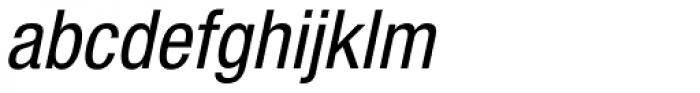 Helvetica Neue 57 Cond Oblique Font LOWERCASE