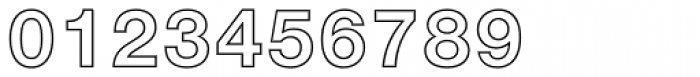 Helvetica Neue 75 Bold Outline Font OTHER CHARS