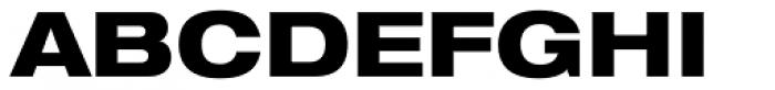 Helvetica Neue 83 Ext Heavy Font UPPERCASE