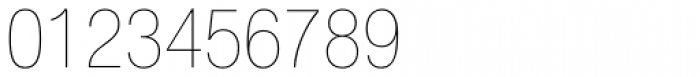 Helvetica Neue LT Std 27 UltraLight Condensed Font OTHER CHARS