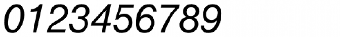 Helvetica Neue LT Std 56 Italic Font OTHER CHARS