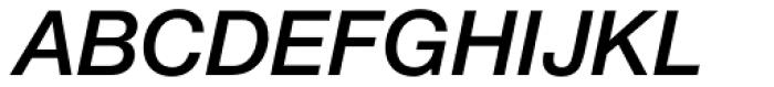 Helvetica Neue LT Std 66 Medium Italic Font UPPERCASE