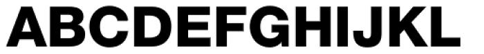Helvetica Neue LT Std 85 Heavy Font UPPERCASE