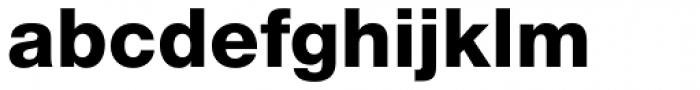 Helvetica Neue LT Std 85 Heavy Font LOWERCASE
