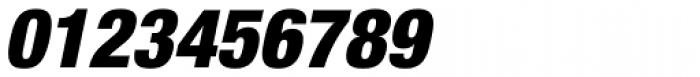 Helvetica Neue Pro Cond Black Oblique Font OTHER CHARS