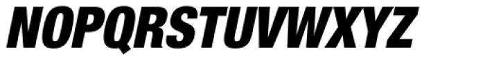 Helvetica Neue Pro Cond Black Oblique Font UPPERCASE