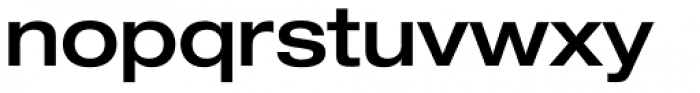 Helvetica Neue Pro Extd Medium Font LOWERCASE