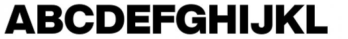 Helvetica Now Display Black Font UPPERCASE