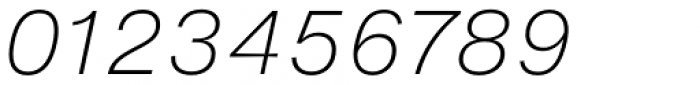 Helvetica Now Micro ExtraLight Italic Font OTHER CHARS