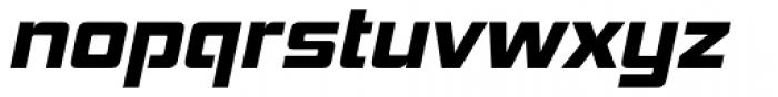 Hemi Head ExtraBold Italic Font LOWERCASE