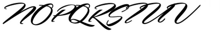 Hemmet Swashes Font UPPERCASE