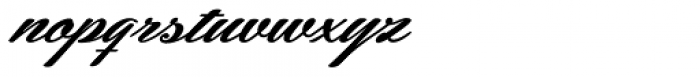 Hemmet Swashes Font LOWERCASE