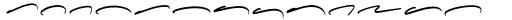 Henares Street Swash Font LOWERCASE