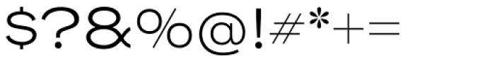Henderson Sans Light Font OTHER CHARS