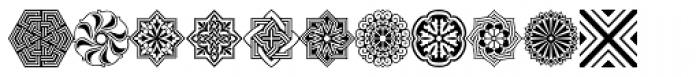 Henman Pictograms Three Font LOWERCASE