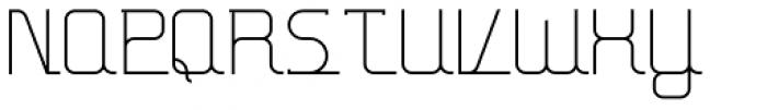 Hennepin Font UPPERCASE