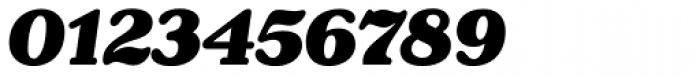 Henriette Black Italic Font OTHER CHARS