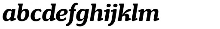 Henriette Bold Italic Font LOWERCASE