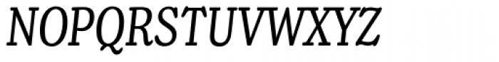Henriette Compressed Italic Font UPPERCASE