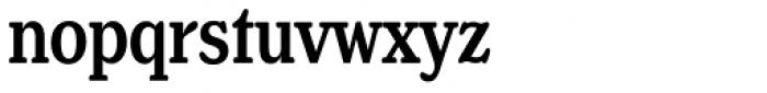 Henriette Compressed Medium Font LOWERCASE