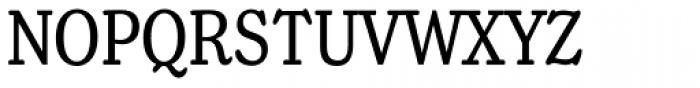Henriette Compressed Regular Font UPPERCASE