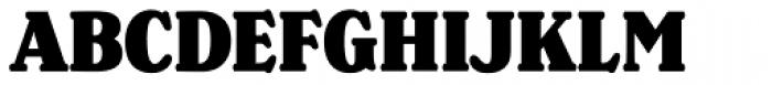 Henriette Condensed Black Font UPPERCASE