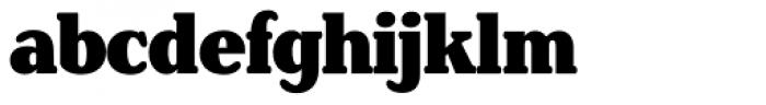 Henriette Condensed Black Font LOWERCASE