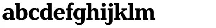 Henriette Condensed Bold Font LOWERCASE