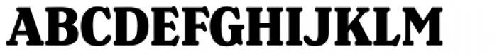 Henriette Condensed Heavy Font UPPERCASE