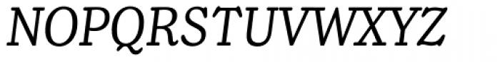 Henriette Condensed Italic Font UPPERCASE