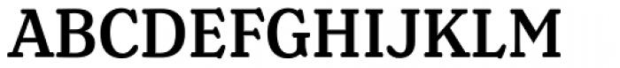 Henriette Condensed Medium Font UPPERCASE