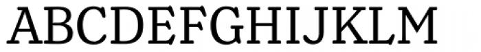 Henriette Condensed Regular Font UPPERCASE
