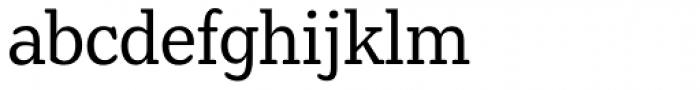 Henriette Condensed Regular Font LOWERCASE