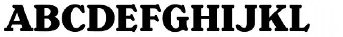 Henriette Heavy Font UPPERCASE