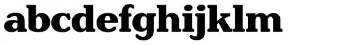 Henriette Heavy Font LOWERCASE