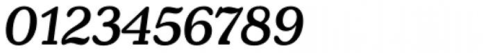 Henriette Medium Italic Font OTHER CHARS