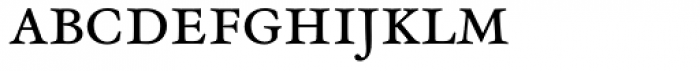 Henry Small Caps Font LOWERCASE