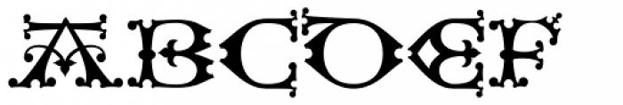 Henry VII Font UPPERCASE