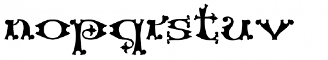 Henry VII Font LOWERCASE