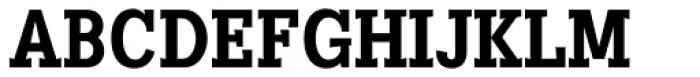 Heptal Bold Font UPPERCASE