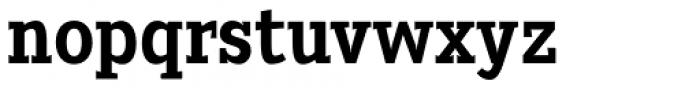 Heptal Bold Font LOWERCASE
