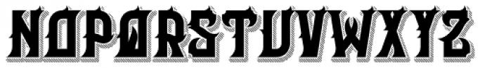Her Majesty Black Font UPPERCASE
