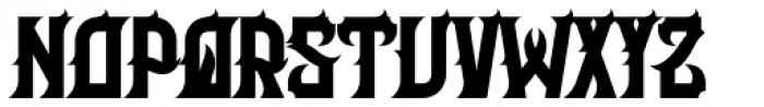 Her Majesty Font UPPERCASE