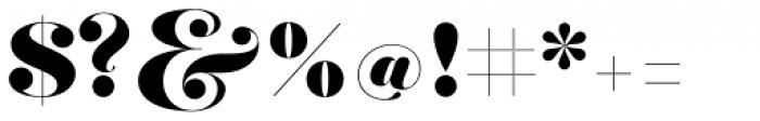 Hera Big Bold Font OTHER CHARS
