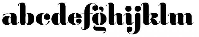 Hera Big Bold Font LOWERCASE