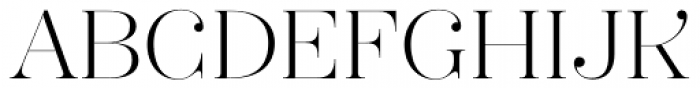 Hera Big ExtraLight Font UPPERCASE